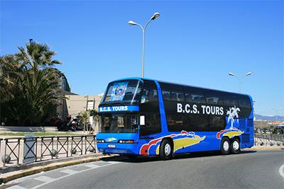 BCS Tours bus